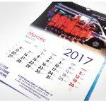 kalendarz spiralowany A3