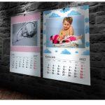 kalendarze sciana